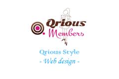 Qrious的Web制作スタイル - デザイン